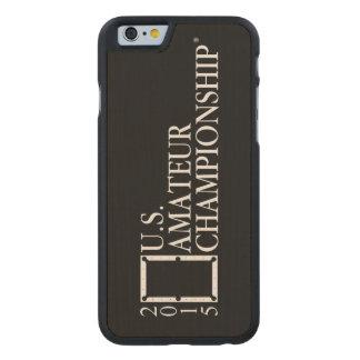 2015 U.S. Amateur Logo Carved® Maple iPhone 6 Case