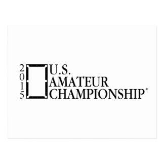 2015 U.S. Amateur Logo Postcard