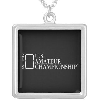 2015 U.S. Amateur Logo Silver Plated Necklace