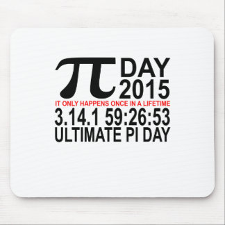 2015 Ultimate Pi Day Tee.png Mouse Pad
