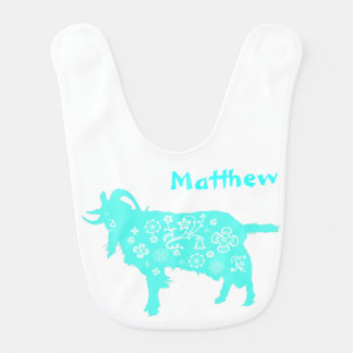 2015 Vietnamese Lunar New Year of the Goat - Baby Baby Bibs