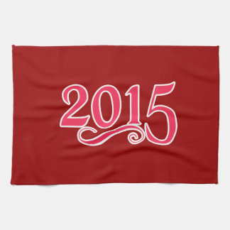 2015 With a Swirl Tea Towels