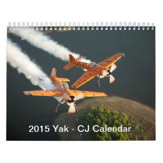2015 Yak - CJ Calendar