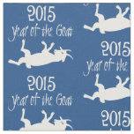 2015 Year of the Goat Myotonic (Fainting) Goat Fabric