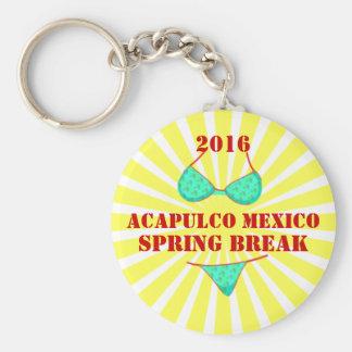 2016 Acapulco Spring Break Souvenir Keychain