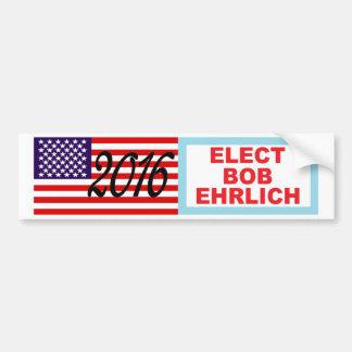 2016 BOB EHRLICH Presidential Bumper Sticker