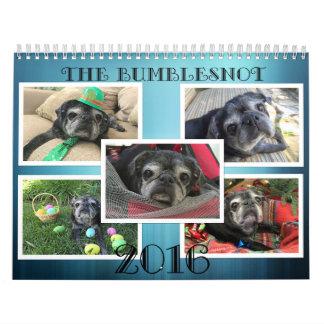 2016 Bumblesnot Calendar