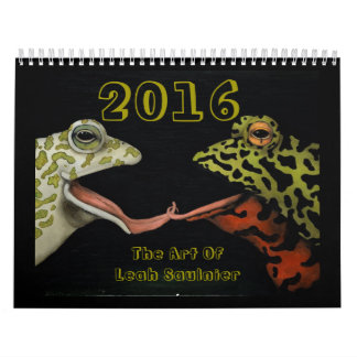 2016 Calendar Art Of Leah Saulnier