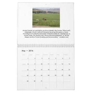 2016 Calendar - Iranian Arts