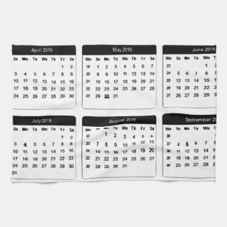 2016 Calendar jGibney The MUSEUM Zazzle Gifts Towels