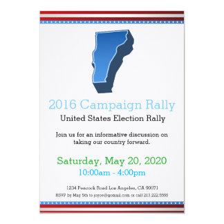 2016 Campaign Rally Vermont Invitation