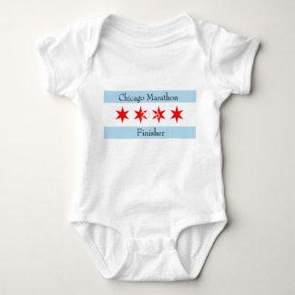 2016 Chicago Marathon Finisher Baby Bodysuit