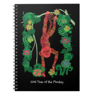 2016 Chinese Fire Monkey custom notebook