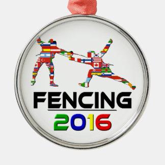 2016: Fencing Christmas Ornament
