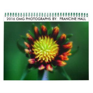2016 Flower Calendar