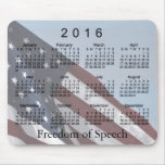 2016 Freedom Calendar by Janz Mousepad