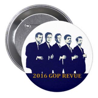 2016 GOP Presidential Contenders Pins