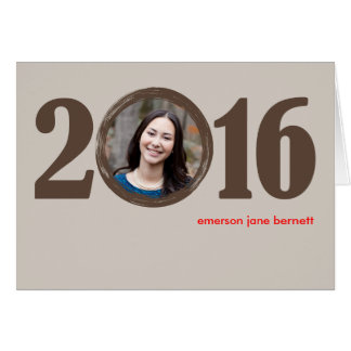 2016 Graduation Notecard