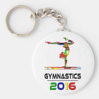 2016: Gymnastics Key Chain