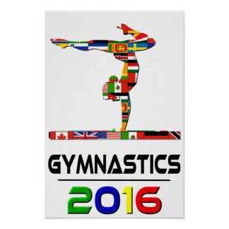 2016: Gymnastics Poster