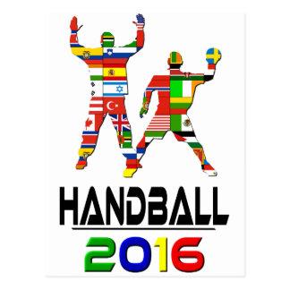 2016: Handball Postcard