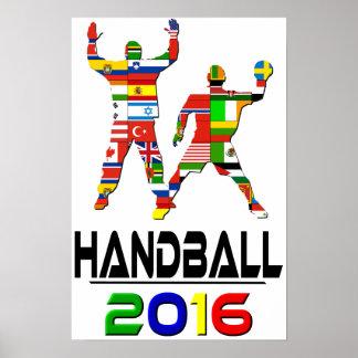 2016: Handball Poster