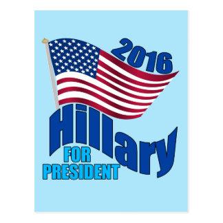 2016 Hillary for President Postcard