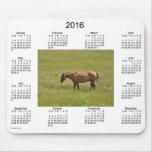 2016 Horse Calendar by Janz Mouse Pad