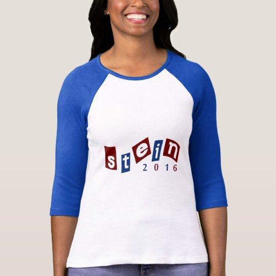 2016 Jill Stein Blue Campaign T-shirt