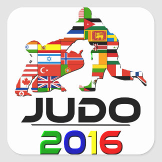 2016: Judo Square Sticker