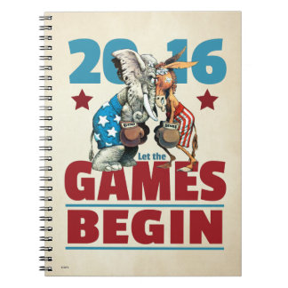 2016 - Let the Games Begin Notebooks