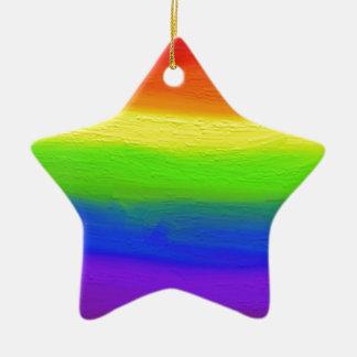 2016 LOVE = LOVE Rainbow Christmas Ornament