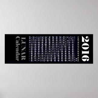 2016 Lunar Calendar Poster