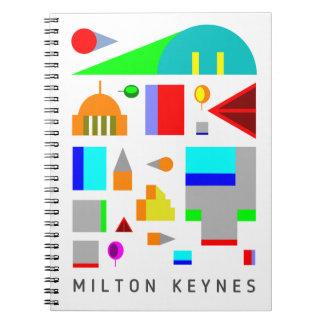 2016 Milton Keynes designer notebook