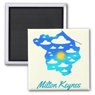 2016 Milton Keynes fridge magnet