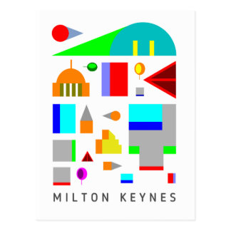 2016 Miton Keynes design postcard