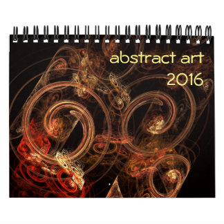 2016 Modern Abstract Art Calendar