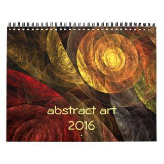 2016 Modern Abstract Art Calendars