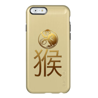 2016 Monkey Year with Gold embossed effect -1- Incipio Feather® Shine iPhone 6 Case