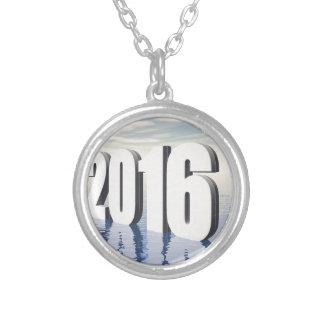 2016 ROUND PENDANT NECKLACE