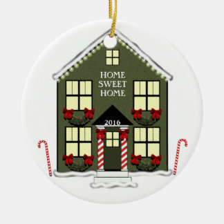 """2016 """"new house"""" ornament"""