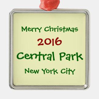2016 NEW YORK CITY CENTRAL PARK CHRISTMAS ORNAMENT