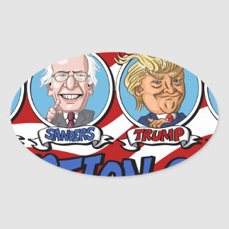 2016 Presidential Election Oval Sticker