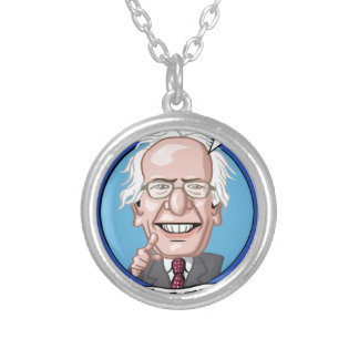 2016 Presidential Election Round Pendant Necklace