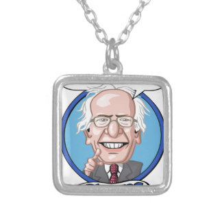 2016 Presidential Election Square Pendant Necklace