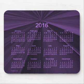 2016 Purple Star Calendar by Janz Mouse Pad