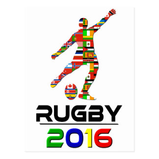 2016: Rugby Postcard