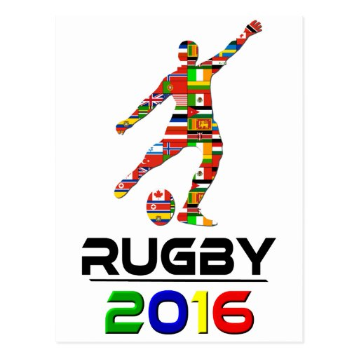 2016: Rugby Post Cards