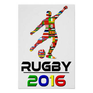 2016: Rugby Poster