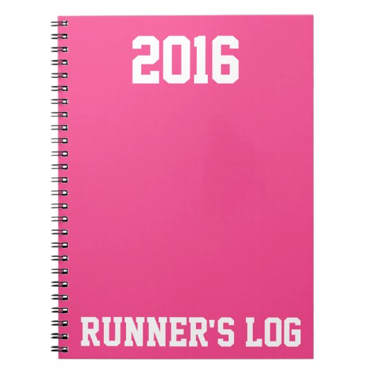 2016 Runner's Log: Running Activity & Training Spiral